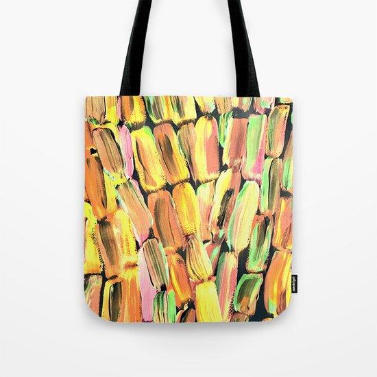 Golden Sweet Yellow Sugarcane Tote Bag