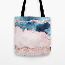 storm whipped sea I Tote Bag