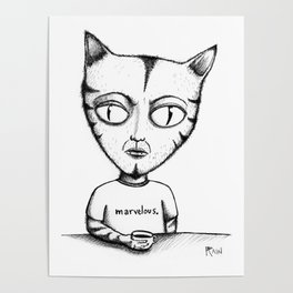 Marvelous Cat Poster