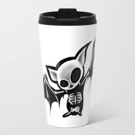 Skeleton bat Travel Mug