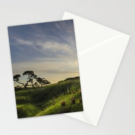 On the slopes of One Tree Hill Stationery Cards