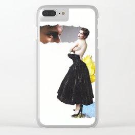 Laetitia Clear iPhone Case