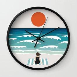 Cat Landscape 62 Wall Clock