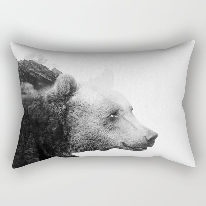 Big Bear #2 Rectangular Pillow