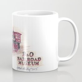 B&O Railroad Coffee Mug
