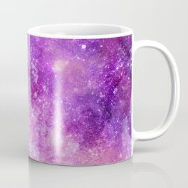 Watercolor Abstract Space and Star Background Coffee Mug