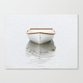 Pamet Harbor Skiff Canvas Print