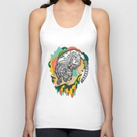 panther Tank Tops featuring Panther by casiegraphics