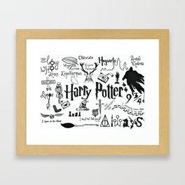 Potterheads Framed Art Print