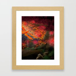 The Dragonfly Tree Framed Art Print
