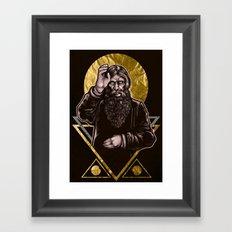 Mad Monk Framed Art Print