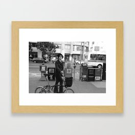 SF Framed Art Print