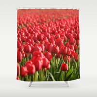 duvet cover Shower Curtains featuring Duvet Cover 404D by Michael Mackin