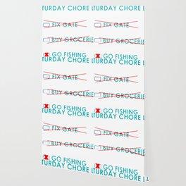 Chore List Wallpaper
