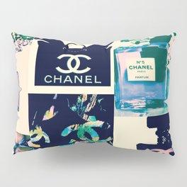 CC No.5 Fashion Collage Pillow Sham