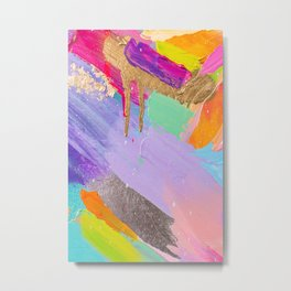 Contemporary abstract painting Metal Print