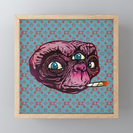 ET Mofo Framed Mini Art Print