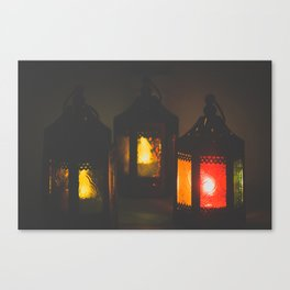 Magic Lanterns Canvas Print