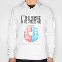 eternal sunshine of the spotless mind Hoodies featuring Eternal Sunshine of the Spotless Mind - Alternative Movie Poster by Anthony DeCarolis