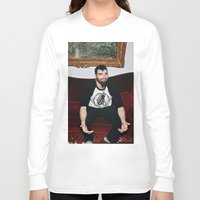 kevin russ Long Sleeve T-shirts featuring Kevin by moriahaslan