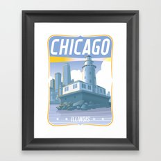 Chicago! Framed Art Print