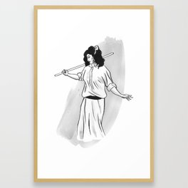 Fifi Framed Art Print