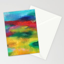 Silence on court, silence we run Stationery Cards