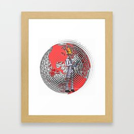 EXCUSE ME WHILE I DOCTOR Framed Art Print