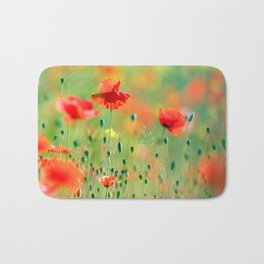The Cute Fox Kit (Red Fox Cub) Bath Mat