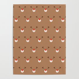 Rudolph Clones (Patterns Please) Poster