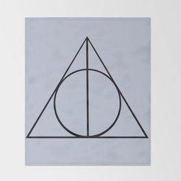 The Three Brothers Throw Blanket