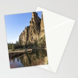 Cliffs Above Crooked River Stationery Cards