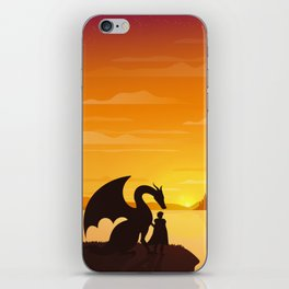 Dragon King Bakugo Landscape iPhone Skin