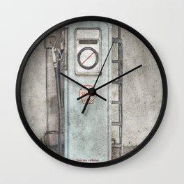 Vintage Gas Stop Wall Clock