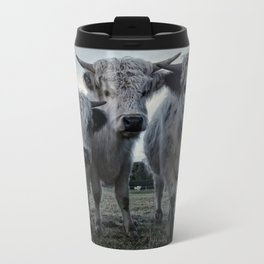 The Three Shaggy Cows Travel Mug