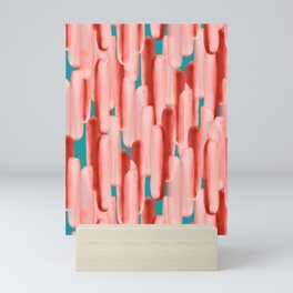 Live In Coral #society6 #abstractart Mini Art Print