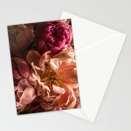 Portrait with Peonies Stationery Cards