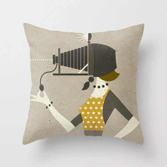 Photographic Memory Throw Pillow