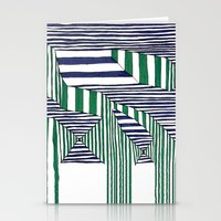 stripes Stationery Cards featuring Stripes by Take F1ve