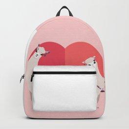 Llama and Alpaca with love Backpack
