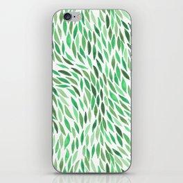 Flow - Emerald iPhone Skin