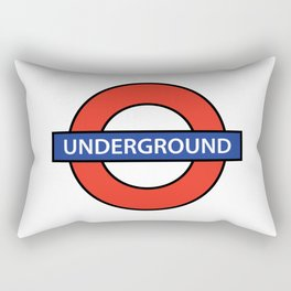 London Underground Rectangular Pillow