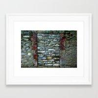 rothko Framed Art Prints featuring Rothko by Ellie Rose Flynn