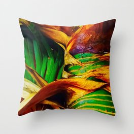 Pandanus in the Tropics Throw Pillow