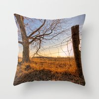country Throw Pillows featuring Country by Scottie Williford