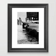 Fisher Dock Framed Art Print