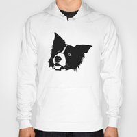 border collie Hoodies featuring Border Collie by MIX INX