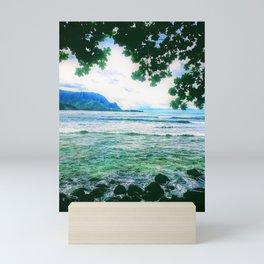 Love Hanalei Forever by Reay of Light Mini Art Print