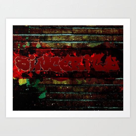 Sincerity Art Print