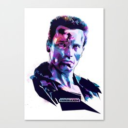Arnold Schwarzenegger: BAD ACTORS Canvas Print